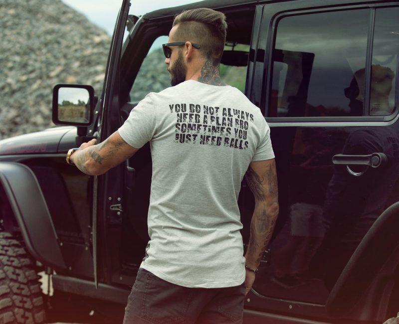 GDR balls T-shirt